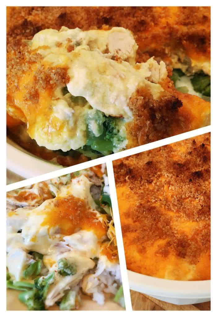 Delicious Chicken Broccoli Casserole