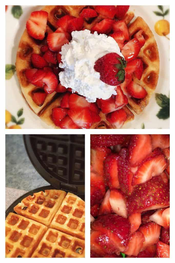 Strawberry Waffle Love!