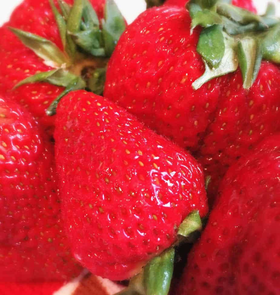 edited strawberries