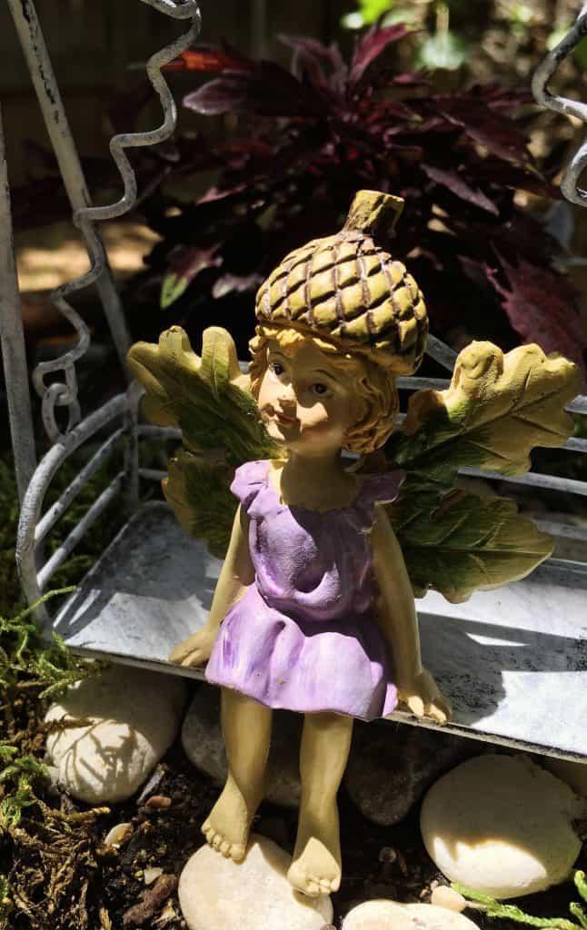 Fairy Garden Fairy Close up