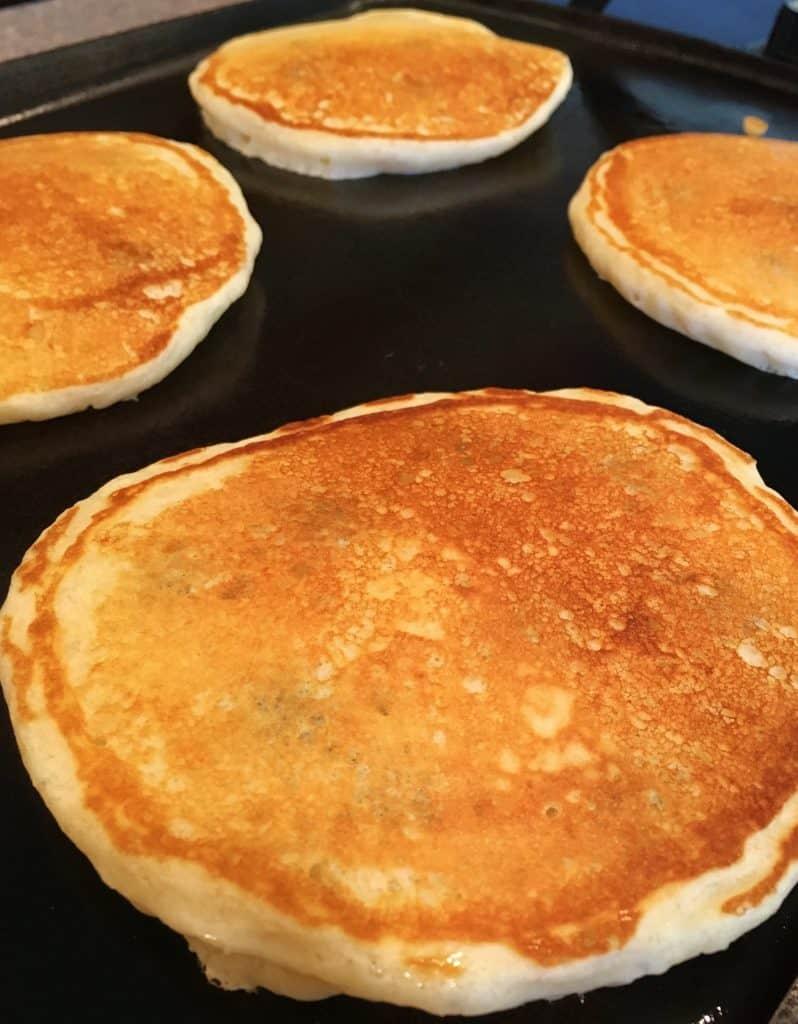 Flippin Blueberry Pancakes