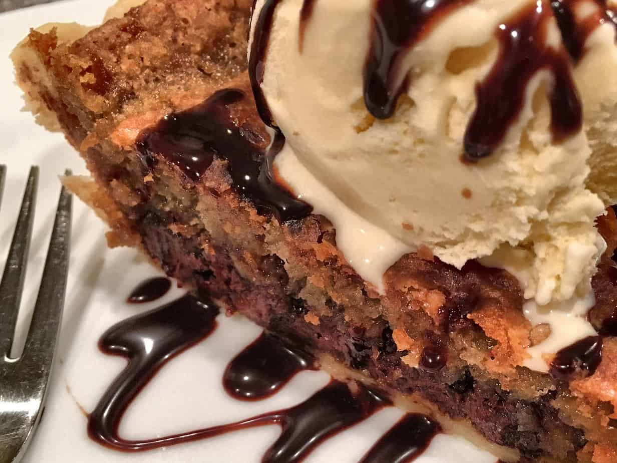 Chocolate Chip Cookie Pie | Norine's Nest