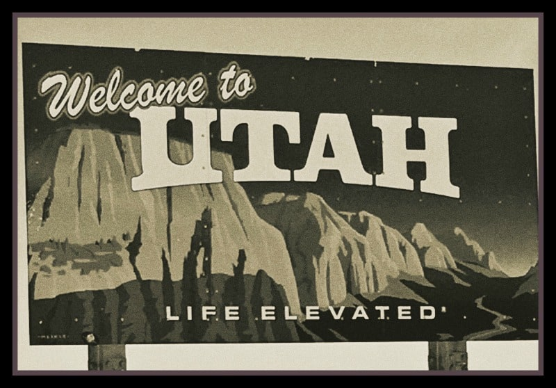 Utah sign antique