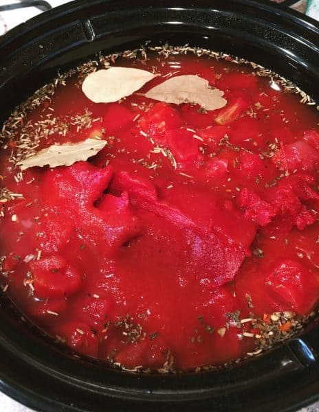 Crock Pot Meatballs with sauce