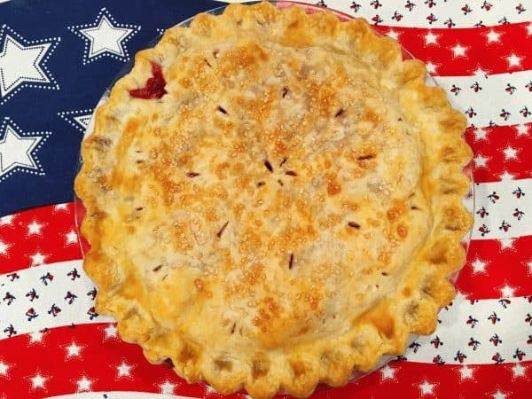 Fresh Baked Brumble Berry Pie