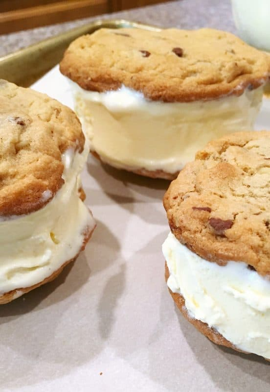 Ice Cream sandwich stuffing