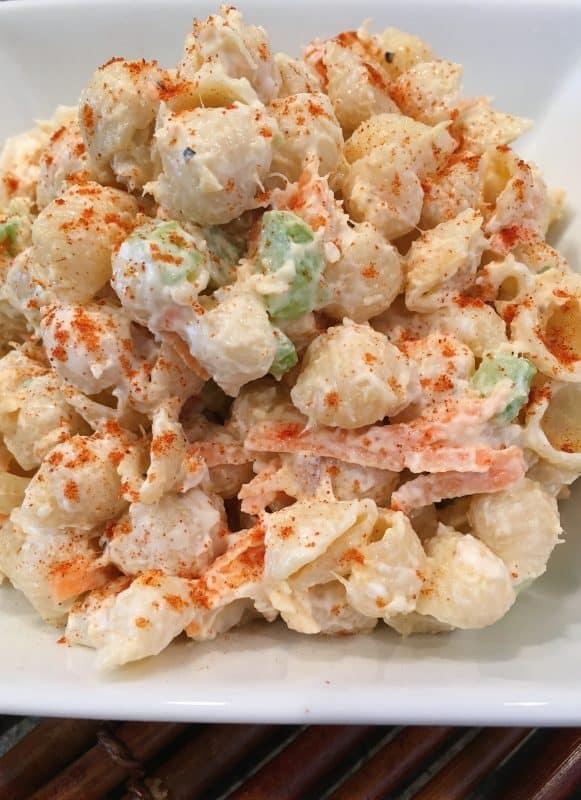 Pasta Shrimp Salad with Paprika
