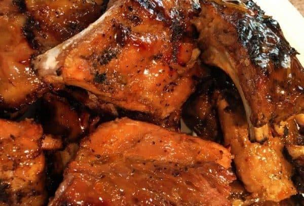 Ribs with secret rib sauce