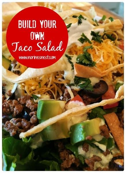 Taco Salad Pinterest Pin