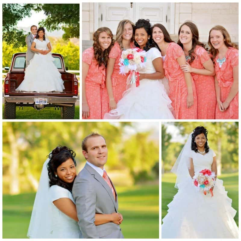pictures of bride and groom and bridesmaids