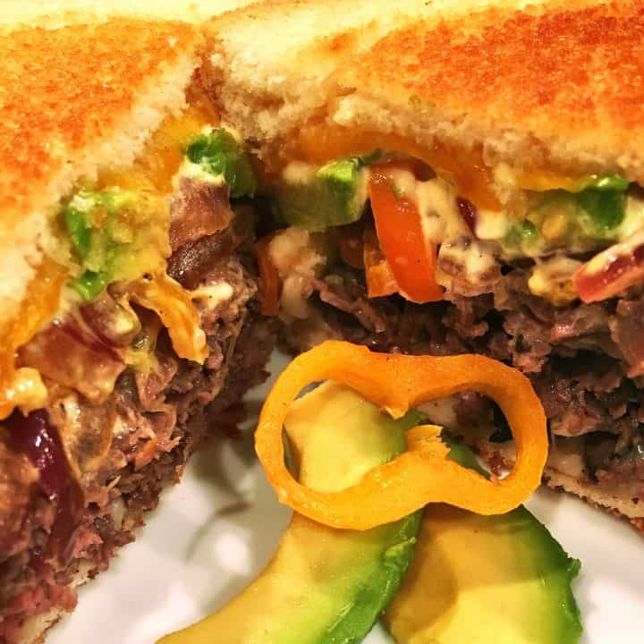 """Roast Beef Grilled Cheese """"Glider"""""""