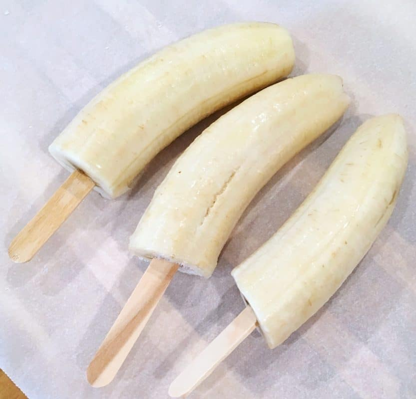 Frozen Banana's