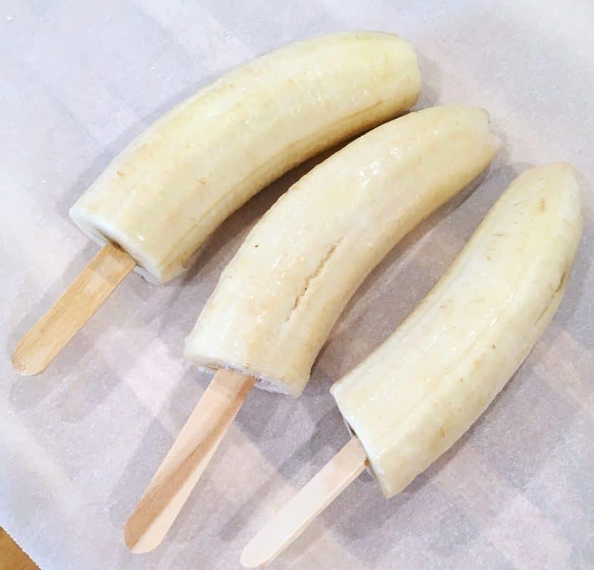 Frozen Banana's