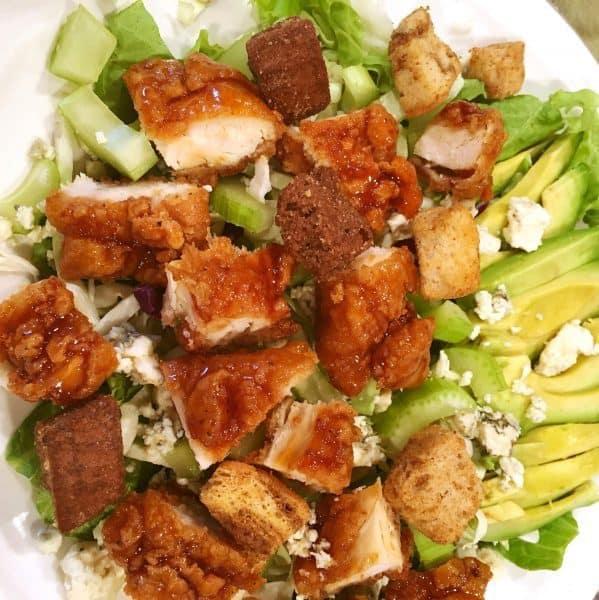 Winger Salad preparation