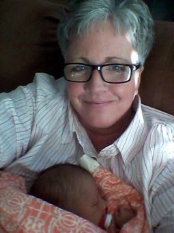 Grandma Norine and Baby B