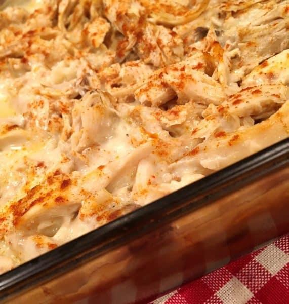 Chicken Rice Casserole Baked