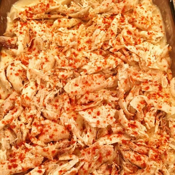 Chicken Rice casserole add paprika