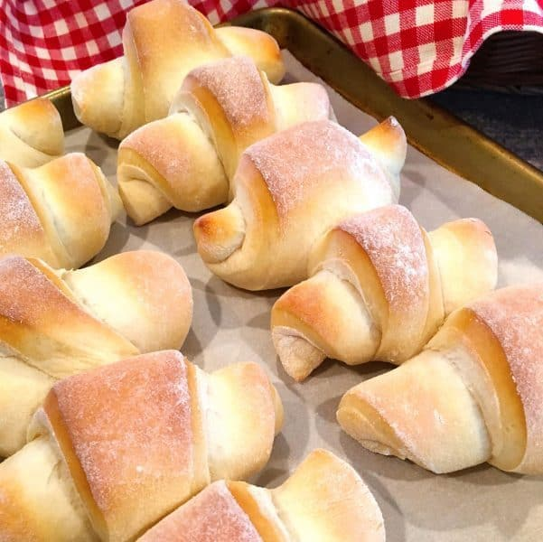 Dinner Rolls right from the oven