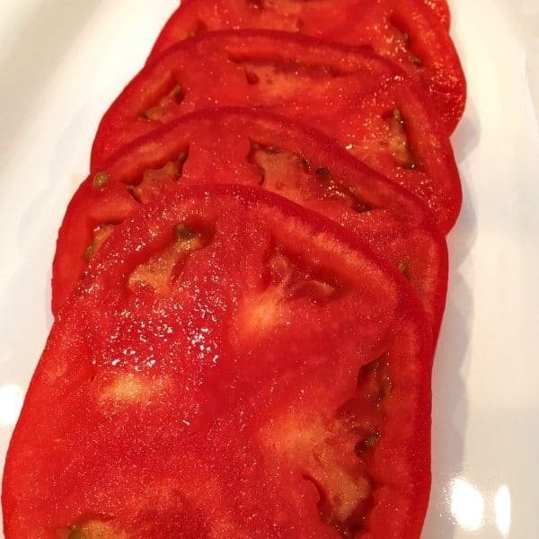 Tomatoes for salad