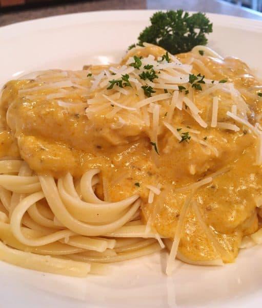 Angel Chicken Slow Cooker Pasta Sauce