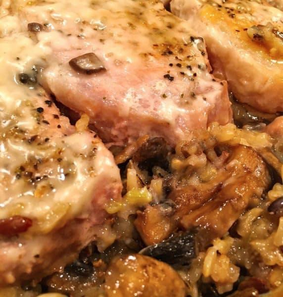Baked Minnesota Pork Chop Casserole