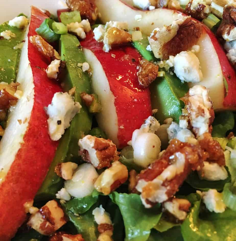 Blue Cheese Pear Salad