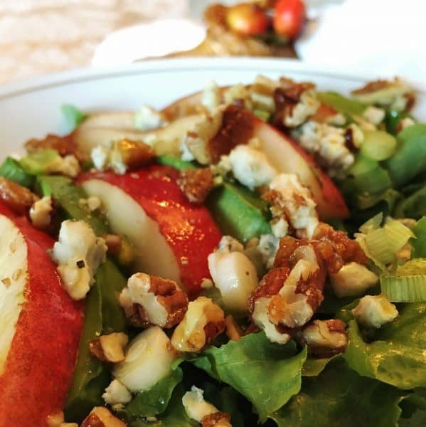 pear-salad-with-mustard-vineagrette