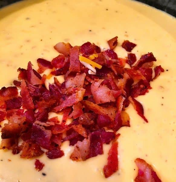 mac n cheese adding bacon