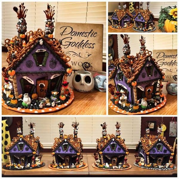 Haunted Gingerbread House Multiple views