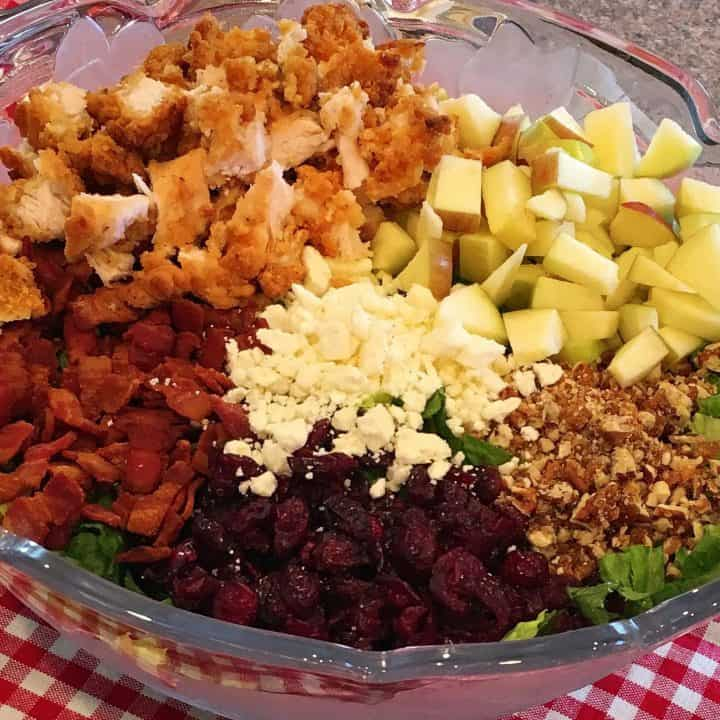 Chopped Autumn Harvest Salad