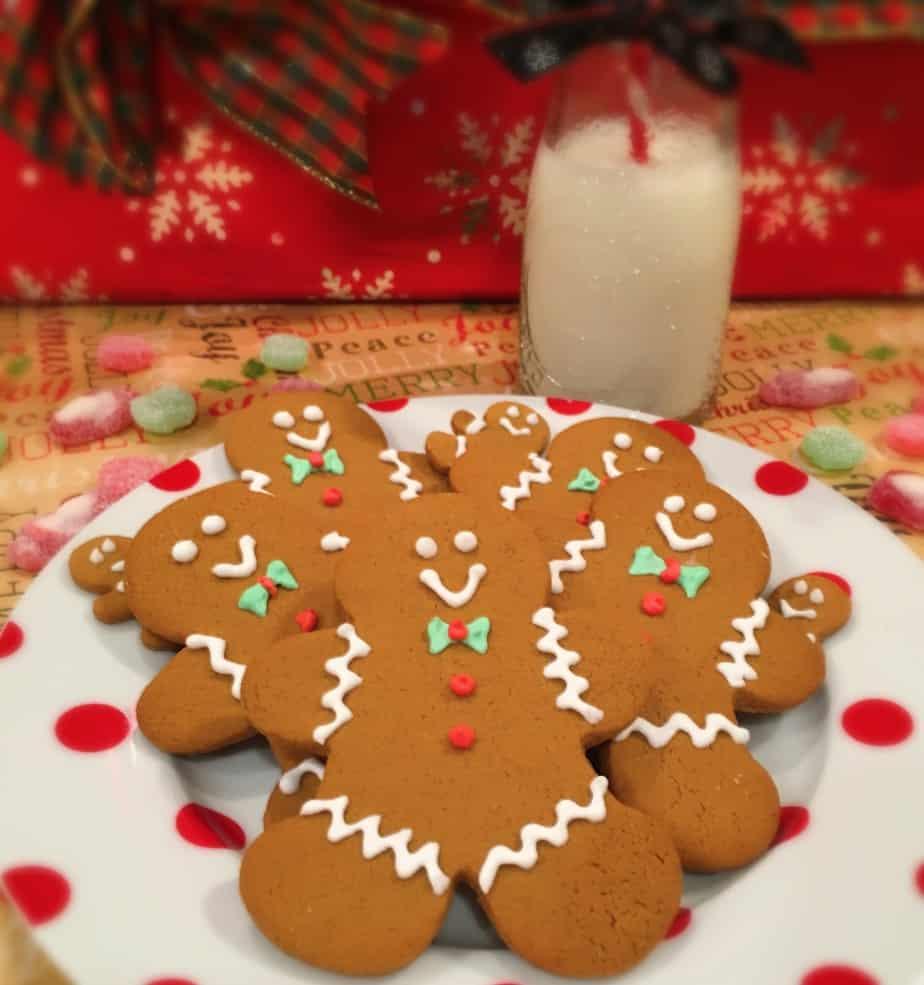 Spiced Gingerbread Men Cookies