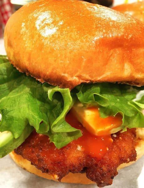 Buffalo Bleu Cheese Chicken Sandwich