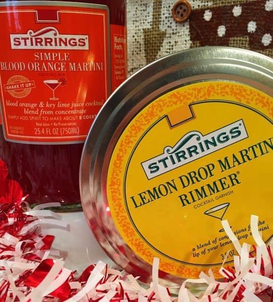 Stirrings drink flavorings and sugars