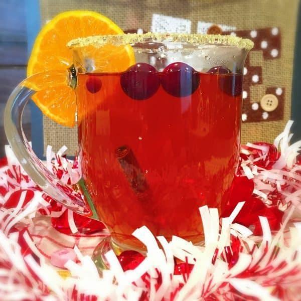Spiced cider drink