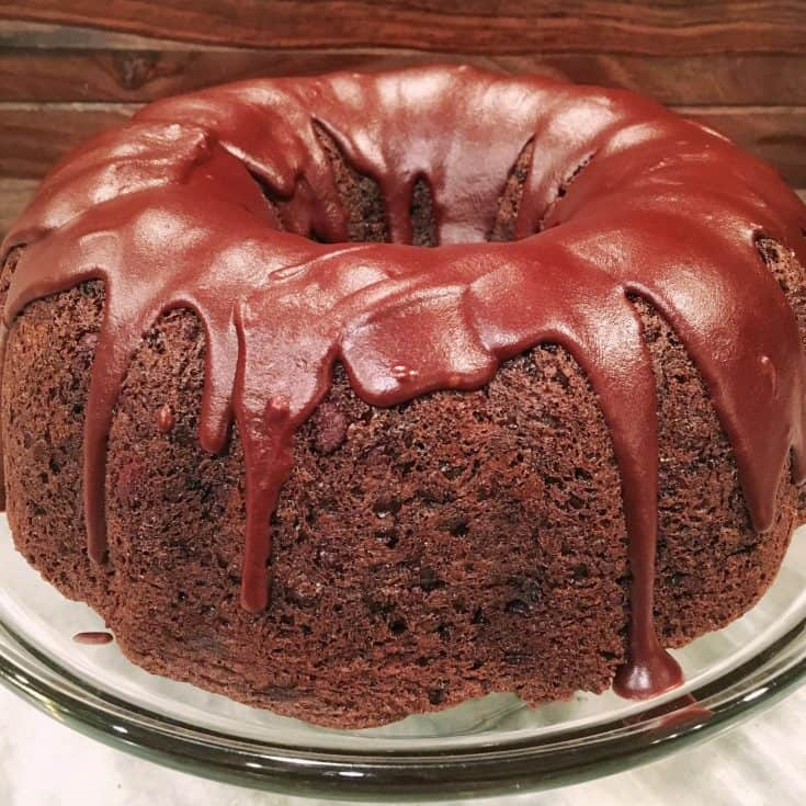 Too Much Chocolate Cake is a rich and moist chocolate cake that is so easy to make and yet should be the star of any bake shop! In a word...it's the BEST!