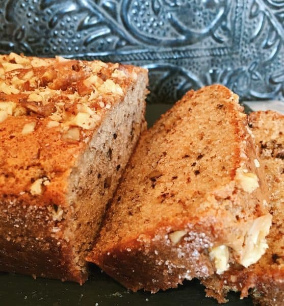 Sour Cream Banana Nut Bread