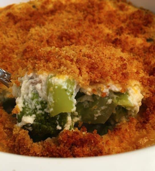 Close up photo of Broccoli Puff