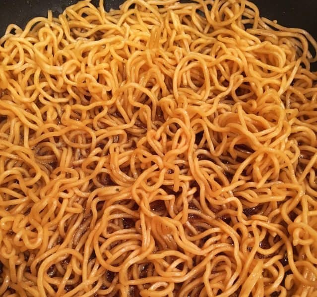 Cooked Yakisoba Noodles