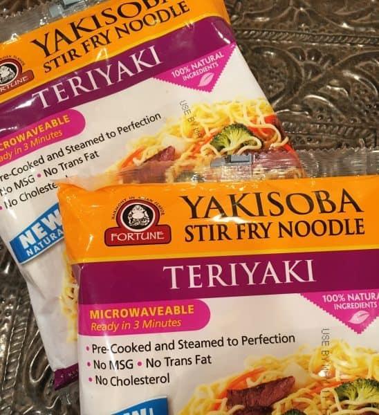 Yakisoba Teriyaki Noodles