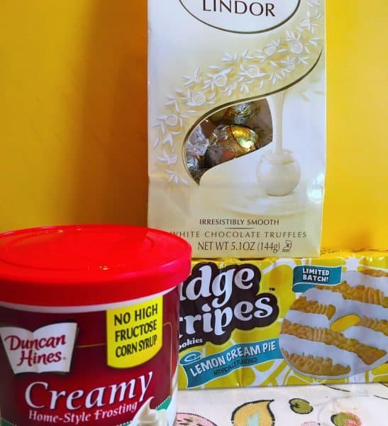 Supplies needed for Easter Bonnet Cookies