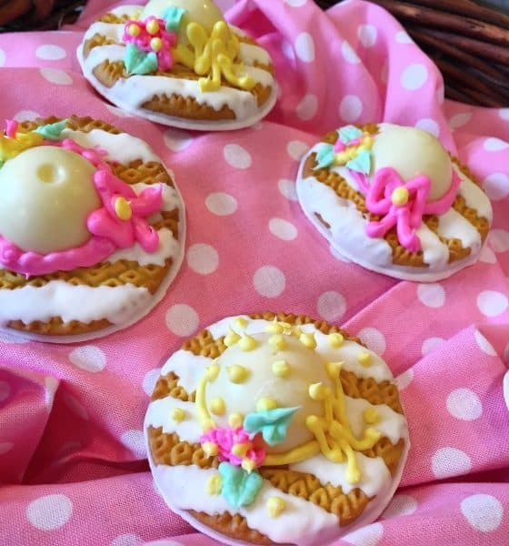 Easter Bonnet Cookie Treats