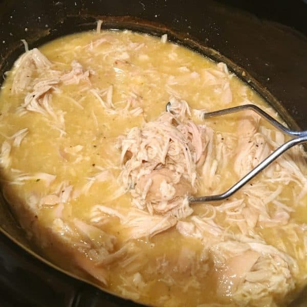 Crockpot Chicken Sandwiches - Easy Dinner Recipe