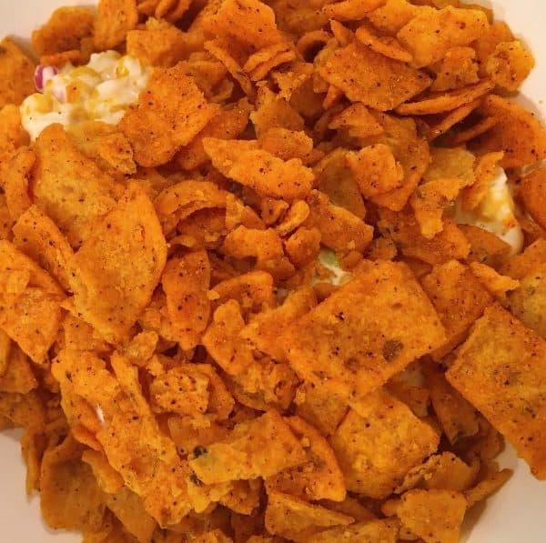 crushed chili cheese fritos