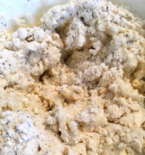add cream to dough