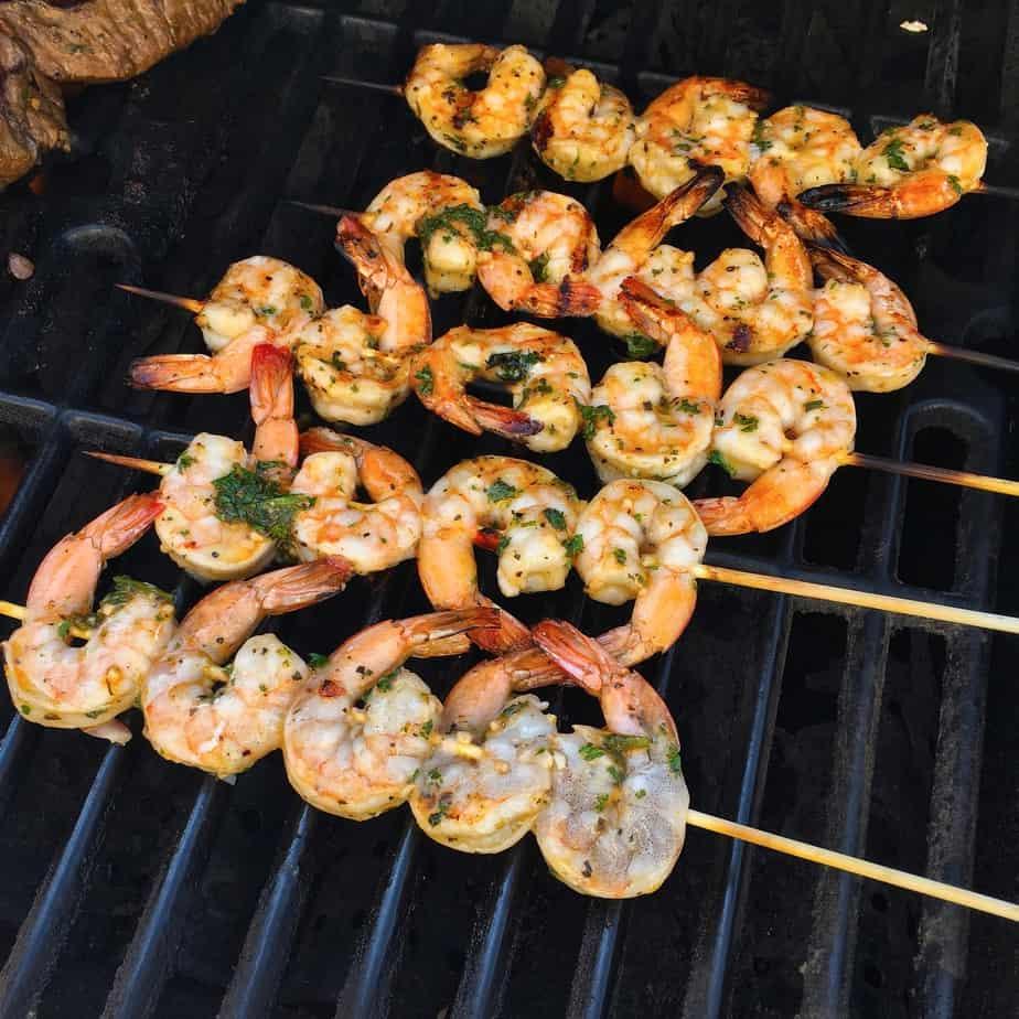 Marinated Grilled Shrimp | Norine's Nest