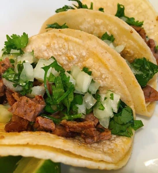 mini street carne asada tacos