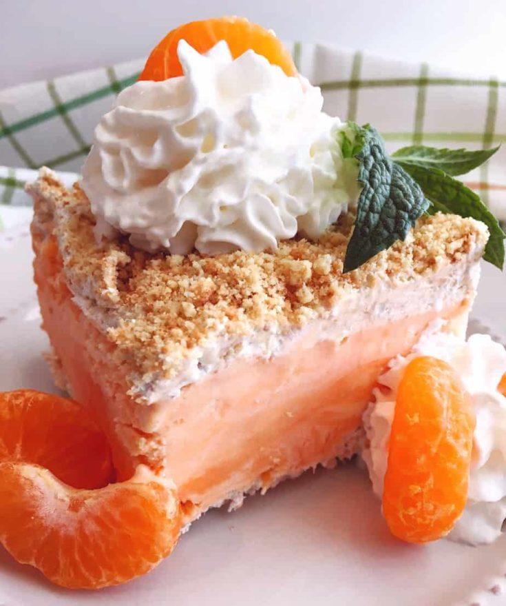 Orange Creamsicle Frozen Dessert