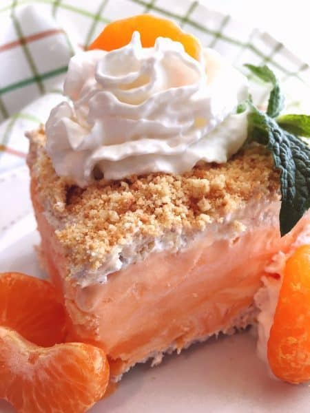 Orange Creamsicle Frozen Dessert