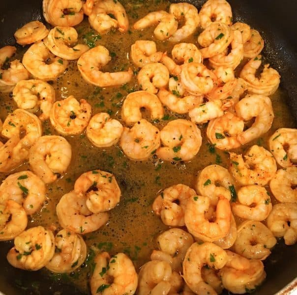cooked marinated shrimp