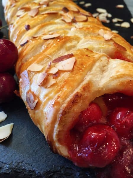 Cherry Lemon Danish